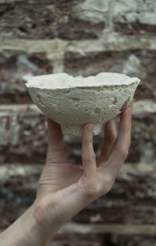 Ceramic waste, Bacteria
